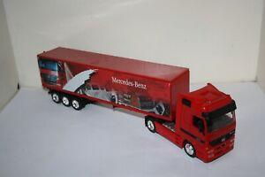 CAMION MERCEDES BENZ ACTROS semi remorque 1/32 jouet enfant truck