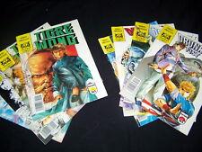 Lot de bandes dessinées TIGRE WONG mini-série 4 numéros et ivre POING 4 Numéros