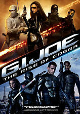 G.I. Joe: The Rise of Cobra (DVD, 2009) Widescreen  Dennis Quaid, Channing Tatum
