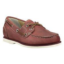 Timberland Schuhe Damen 3417R Gr. 37 CLASSIC BOAT AMHERST 2-EYE Bootsschuh Leder