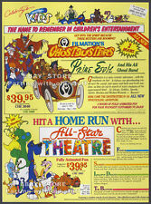 Filmation's GHOSTBUSTERS__Original 1989 Trade print AD promo__All-Star Theatre