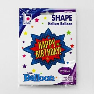 "32""Super Burst Birthday Balloon, Attractive, Helium Balloon, Best for the Party"