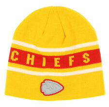 Outerstuff NFL Football Boys Kansas City Chiefs Cuffless Knit Cap OSFM