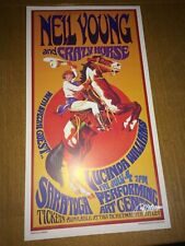 Neil Young and Crazy Horse 1st print Show Poster 60s artist Bob Masse