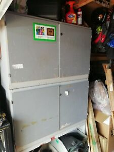 Tool cupboard garage storage wall freestanding units