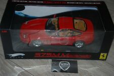 Ferrari 575 Marranello red Hotwheels elite IN BOX 1/18 SEE INFO