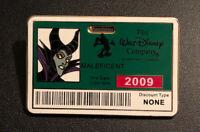 Disney Maleficent Employer ID Badge Series Pin Sleeping Beauty Villain LE 300