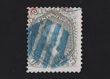 Blue Fancy Cancel on 24c Washington 1861-66 Scott #78