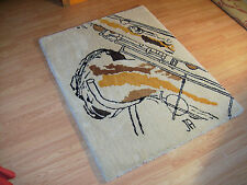 SALE! RUG ~Thick and soft Saxophone Sketch Rug ~Selmer Mark VI ~SBA ~Conn 10M