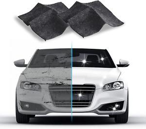 N&A 2 Pieces Car Scratch Remover Cloth, Multipurpose Car Scratch Repair Cloth,