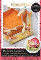 Kimberbell  KD553 Quilted Baskets Machine Embroidery CD