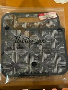 Thirty-One Thirty One 31 Gifts Double Duty Caddy BRAND NEW - Windswept Diamonds
