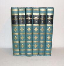 ALEKSANDR PUSHKIN 6 Volumes Works Russian Language Books Literature 1969 + GIFT!