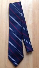 """1970s 1980s STATE FARM FIRE AND CASUALTY INSURANCE NECK TIE, WEMBLEY, 55"""" LONG"""