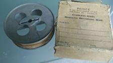 Bande magnétique pour Magnetophone a bande Peirce wire recorder magnetic vintage