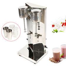 110v Commercial Milkshake Maker Drink Mixer Electric Milk Tea Shop Shake Machine