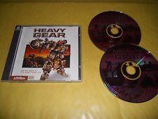 PC GAME-HEAVY GEAR-2 CD-Computer-Gioco-Games-INGLESE-ING-1^ EDIZIONE