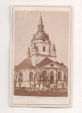 Vintage CDV Katarina Church,Church of Catherine, Stockholm Sweden