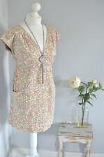 JOULES Ditsy floral print cotton tunic dress UK 14 L