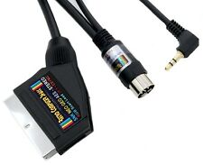 SNK Neo Geo AES High Quality STEREO RGB Scart Lead Video Cable TV Lead 2mtr
