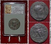 Ancient Roman Empire Coin HERENNIUS ETRUSCUS Eagle Antioch Tetradrachm