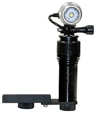 Underwater photography Bright Video Light with Camera mount bracket Intova AVL.