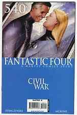 Fantastic Four #540-543 - Civil War Crossover 2007 (8.5-9.2)