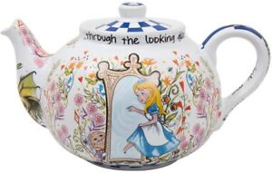 Alice in Wonderland 4 cup betty teapot Through the Looking Glass Cardew Design