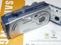 Samsung Digimax 3100 - Digital Camara - Negro