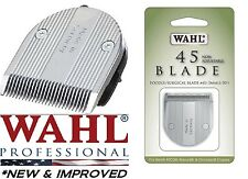 NEW & IMPROVED Wahl 45 Poodle .5mm Blade for FIGURA,Bravura Arco Trimmer Clipper