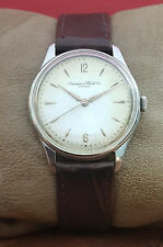 IWC SHAFFHAUSEN cal. C.89 VINTAGE 50th RARE 35mm SWISS WATCH.