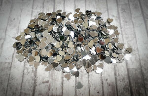 Wedding Table Confetti Decorations Silver Love Hearts Scatter Sprinkles Party UK