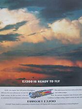 6/1993 PUB EUROJET EJ200 ENGINE FIAT AVIO MTU ROLLS-ROYCE ITP EUROFIGHTER AD