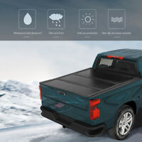 Hard Tri-Fold Tonneau Cover For 2005-2020 NISSAN FRONTIER 5FT SHORT BED