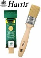 "Harris Varnish & Wood Stain Paint Brush Pure Bristle DIY 1.5"" Oil Brushes 38mm"