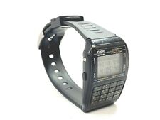 Casio DBC-62 Data Bank Telememo-50 Calculator World Time Wrist Watch 1985 #4633