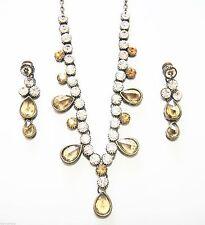Crystal Women Silver Asian Jewellery