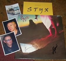 STYX  Autographed Album & Photos- VERY Collectible
