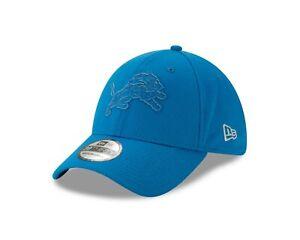 Detriots Lions New Era blue 2T Mold 39THIRTY Hat