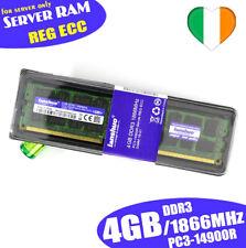 4GB DDR3 Server RAM Memory 1866MHz SEC 14900R 240pin ECC Reg-DIMM
