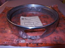 Alfa Romeo HEADLIGHT RING dress trim ring GTV & Berlina 1969 to 1974 OEM
