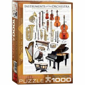 Eurographics Puzzle 1000 Piece Jigsaw  - Instruments of the Orchestra EG6000141