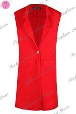 Cappotti e giacche da donna rossi bottone , Taglia 44
