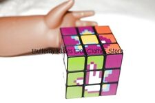 Mini Magic Cube Game 18 in Doll Clothes Accessory Fits American Girl