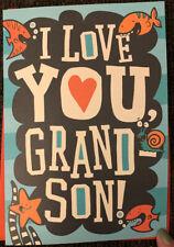 HAPPY VALENTINE'S DAY GRANDSON OCTOPUS GREETING CARD HALLMARK