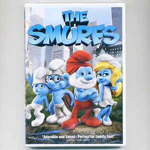 Smurfs 2011 full-length family movie, new DVD Harris, G Lopez, K Perry A Cumming