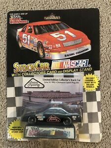Racing Champions Pocono Speedway Nascar #92 Car Card and Stand New 1992