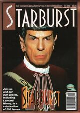STARBURST MAGAZINE ISSUE #200  APRIL 1995  LEONARD NIMOY, ADAM WEST, STAR TREK