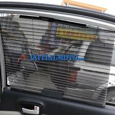 Gray Car UV Mesh Folding Insulation Side Window Windshield Sun Shade Visor Block
