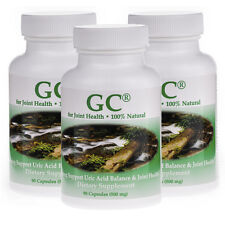 3 pack of Gout Care / GC- #1221- Powerful Uric Acid Cleanser and Joint Protector